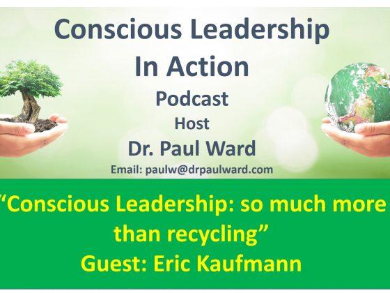 Conscious leadership or conscientious leadership